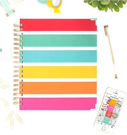 Living Well Planner cover
