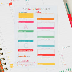 How to Use the Daily Focus Sheet™ [Digital Download]