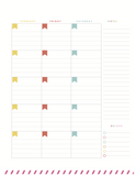 Month-at-a-Glance Two-Page Spread - Sunday Start {Digital Download}