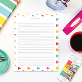 Set of 4 Note Pages {Digital Download}