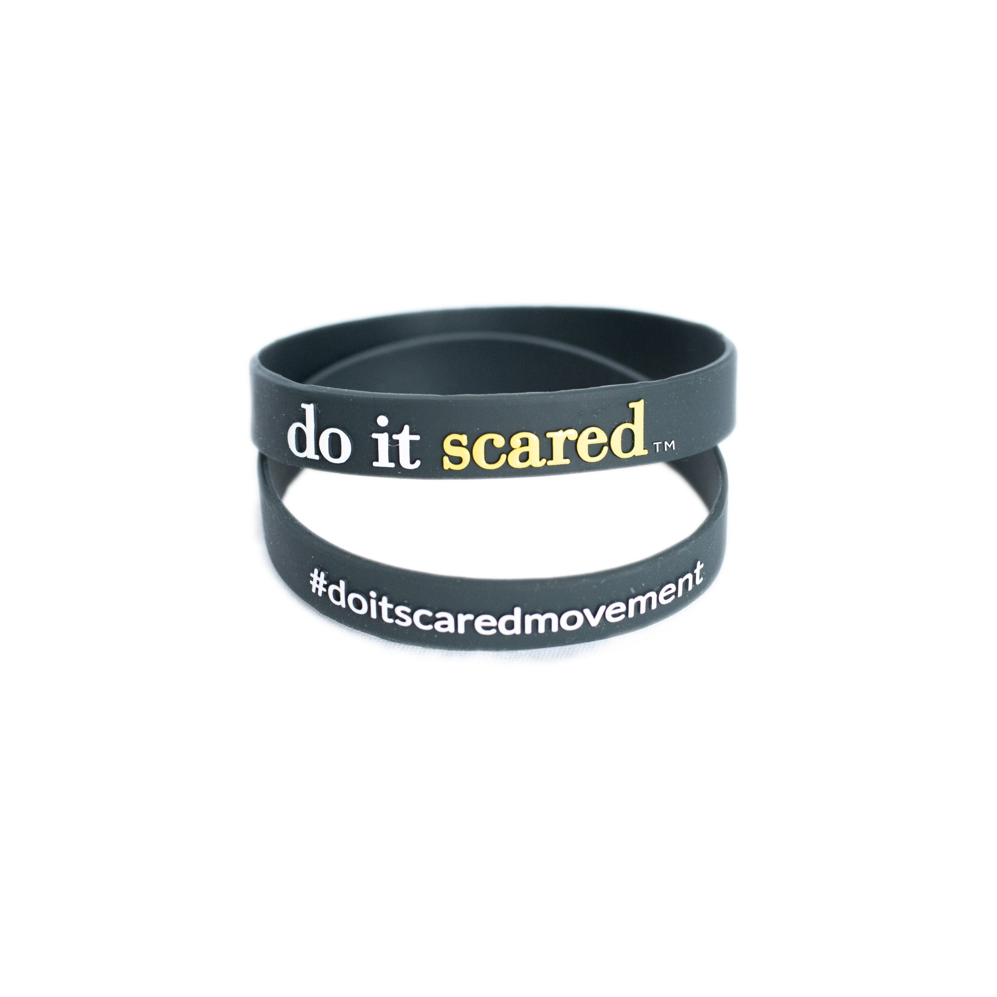 Do it Scared® Wristband