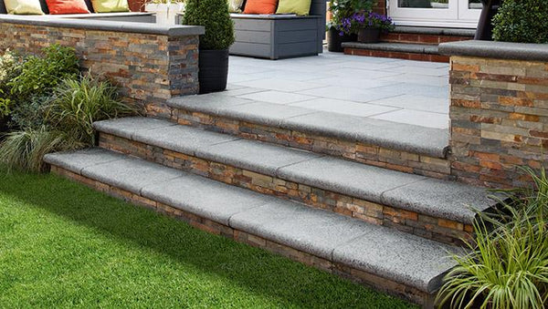 Granite Eclipse Garden Steps
