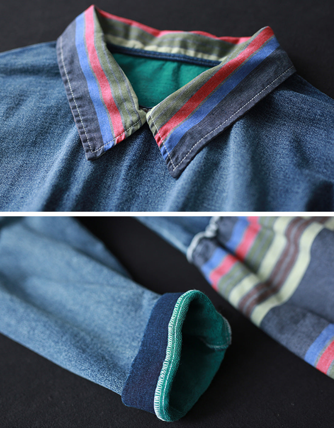 Into The Night Denim Cotton Co-Ords Details 1