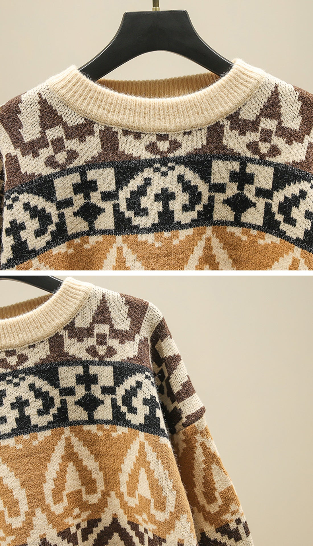The Travelers Sweaters Details 1