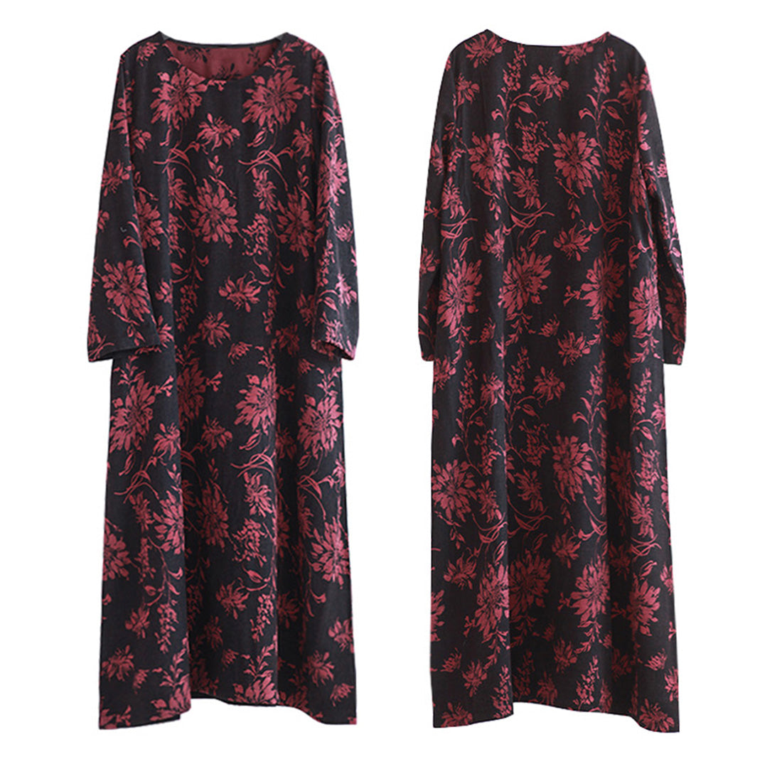 Next Chapter Floral Cotton Tie Maxi Dress Details 1