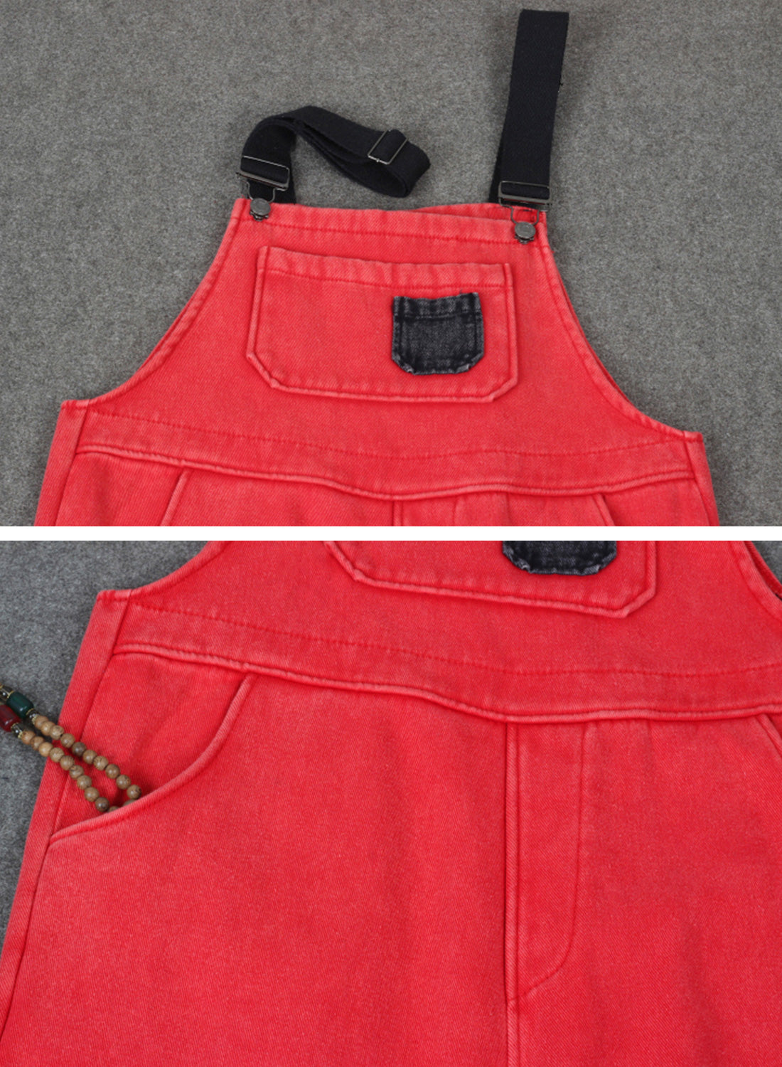 Aiming Higher Cotton Overalls Dungaree Details 1