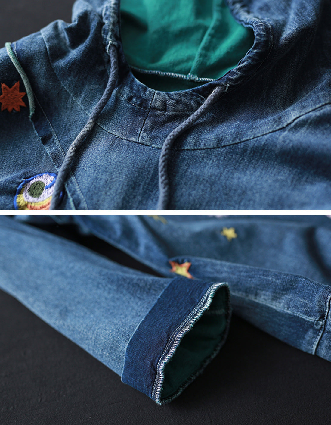 Something Different Denim Cotton Co-Ords Details 1