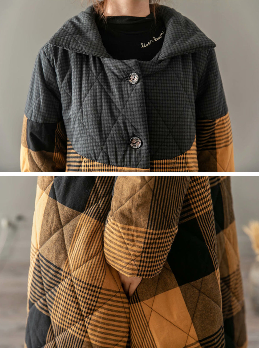 Forester Puffy Cotton Coat Details 1