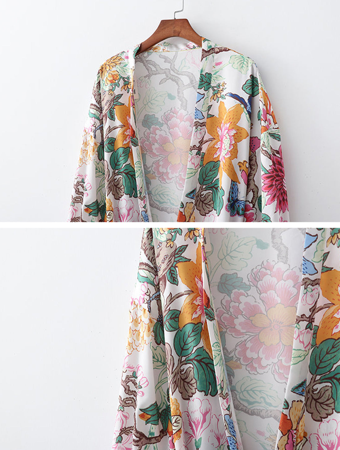 Forever With You Kimono Robe Details 1