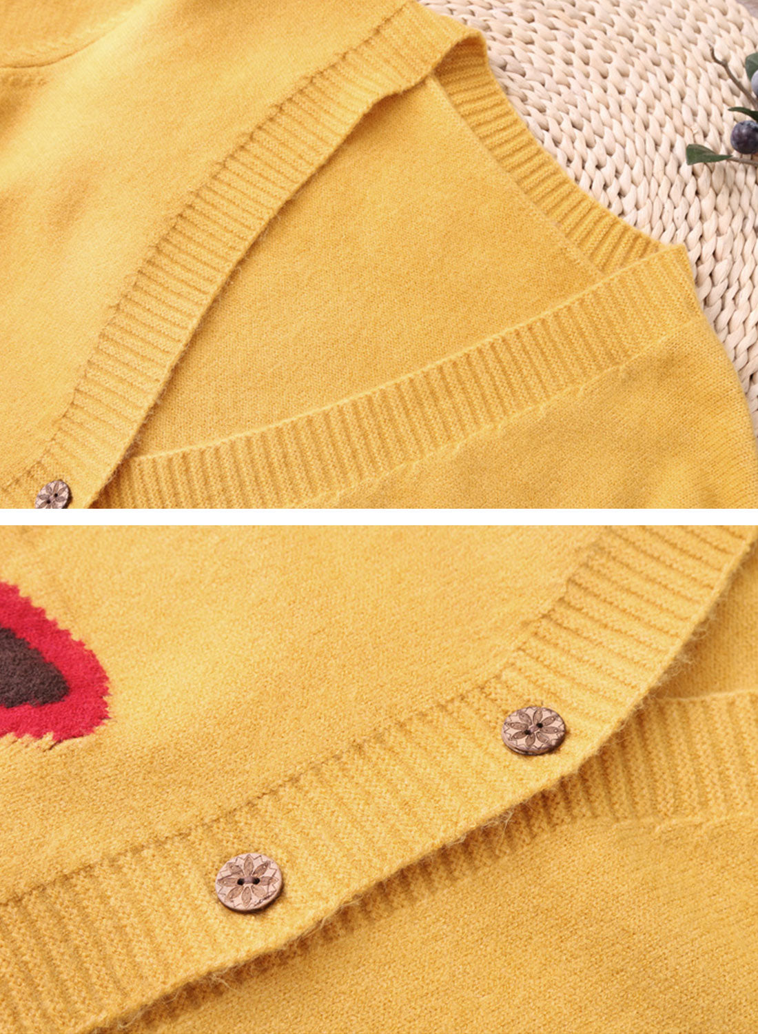 Fozy Little Thing Cardigan Sweater Details 1