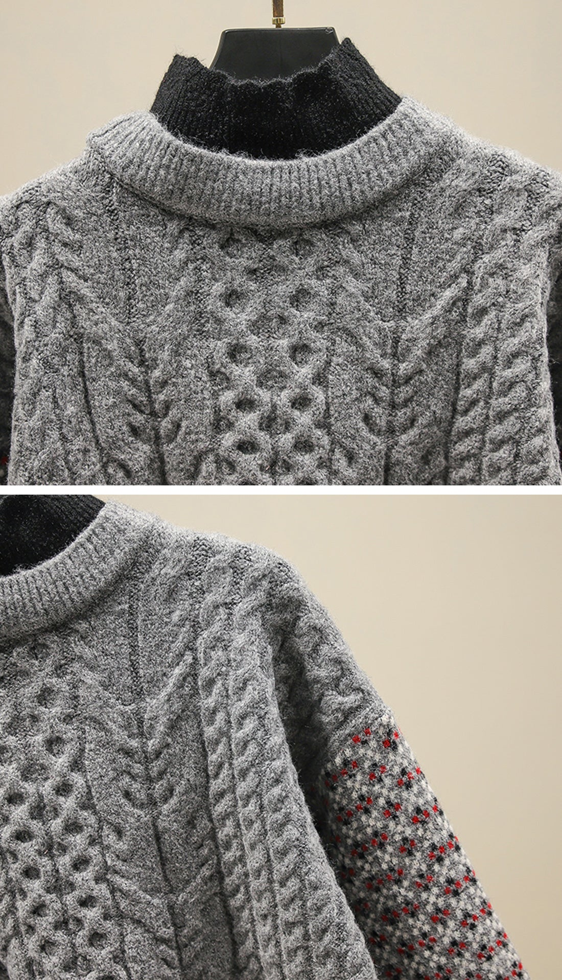 Into the Forest Sweaters Details 1