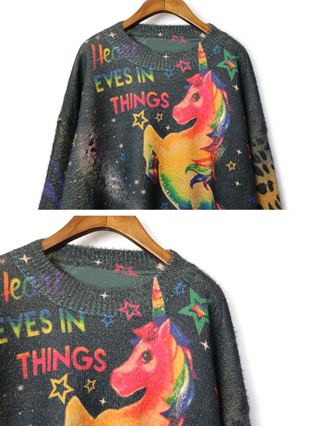 That's My Gala Unicorn Things Sweater Top Details 1