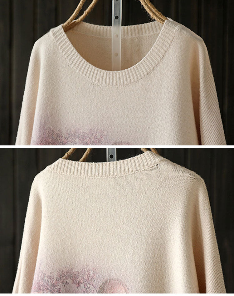 Falling Angel Sweater Top Details 1