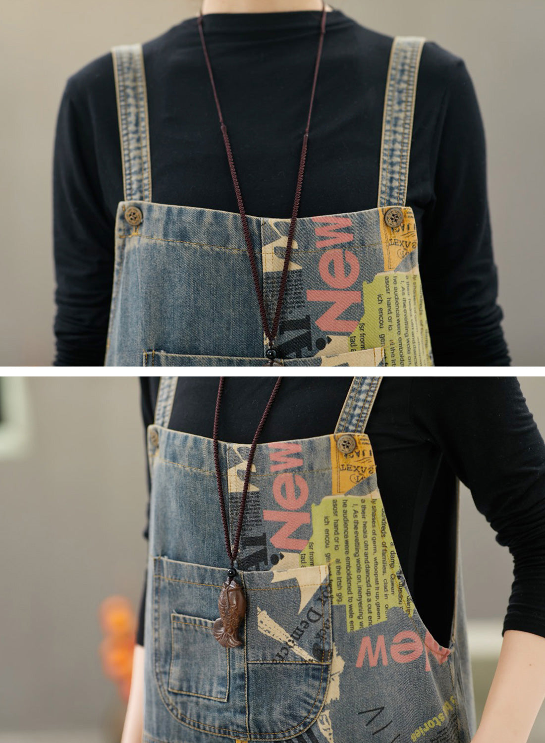 A Day In The Life Denim Overalls Dungarees Details 1