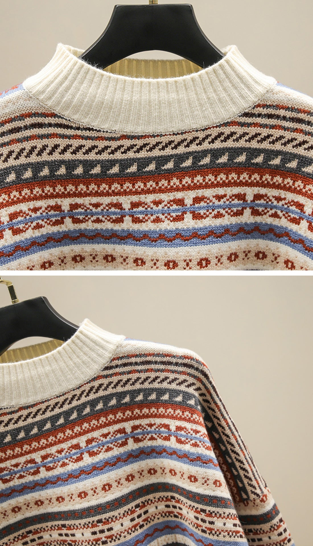 Loving Stripes Sweaters Details 1
