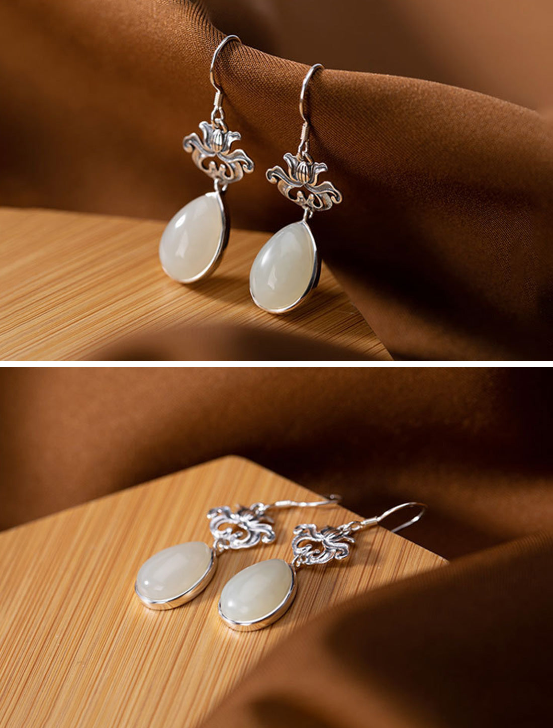 The Finishing Touch Drop Earrings Details 1