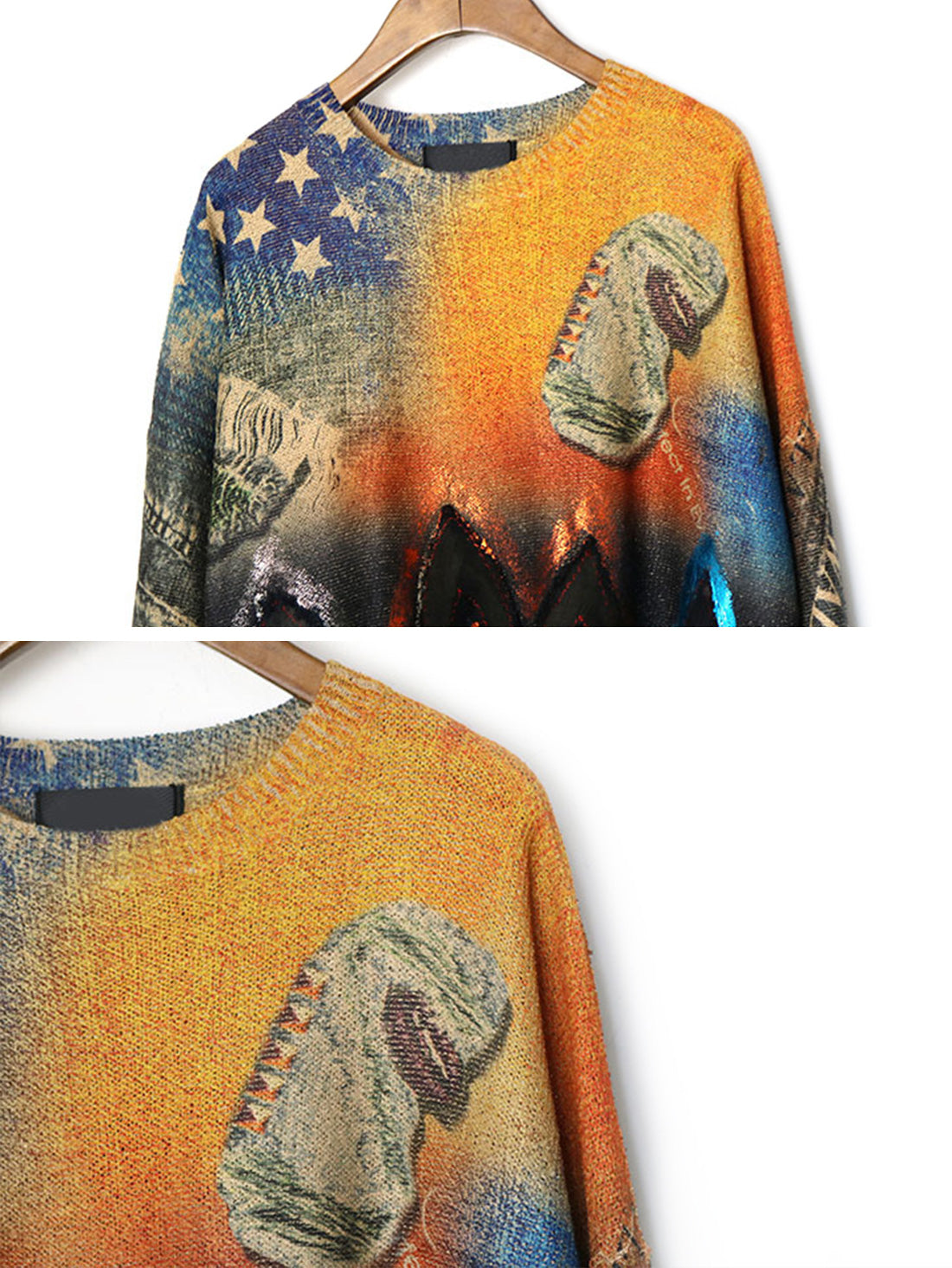 American Day Dream Sweater Top Details 1
