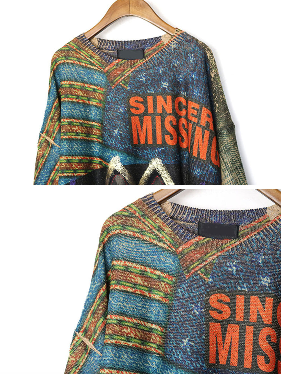Sincerity Missing Sweater Top Details 1