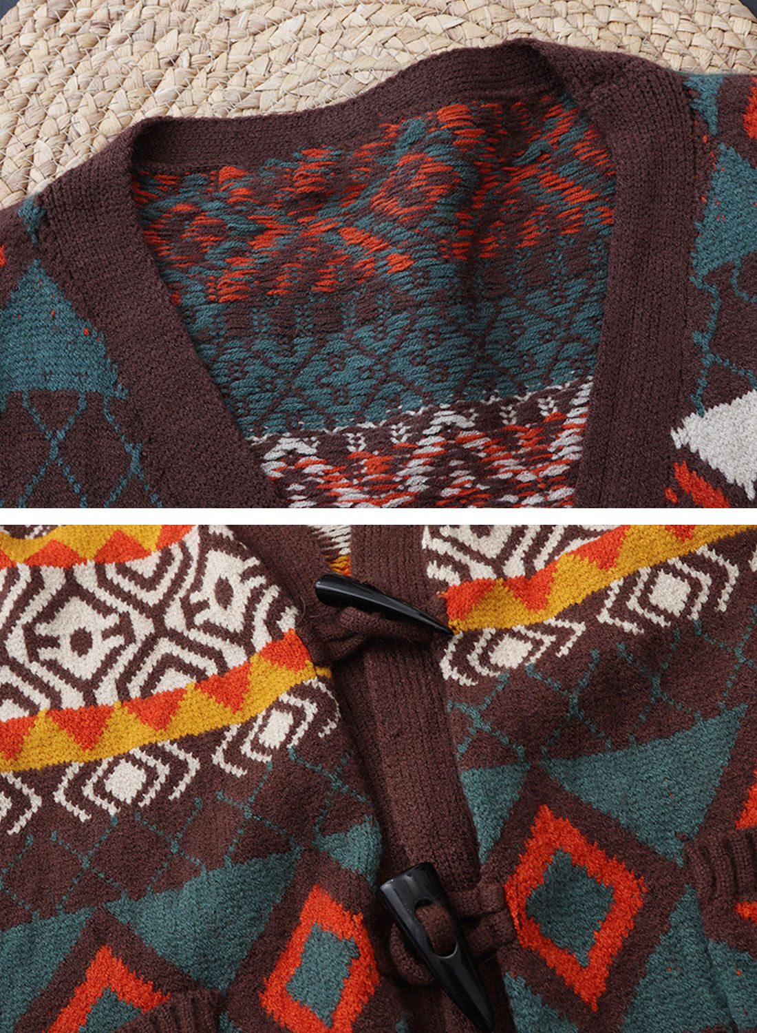 You Know Vintage Cardigan Sweater Details 1
