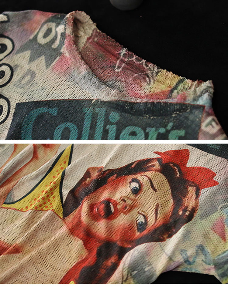 Fearless Queen Sweater Top Details 1