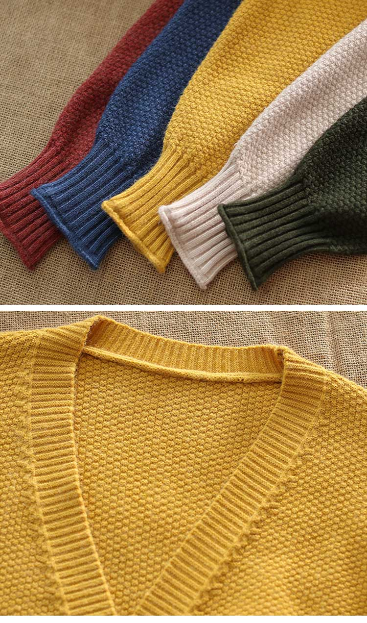 Thread Ahead Cardigan Sweater Details 1