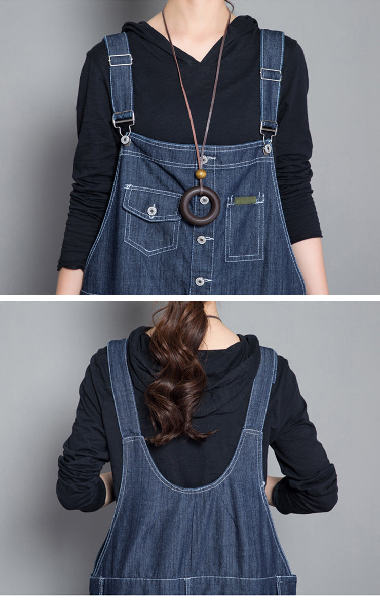 Informed Denim Overalls Dungaree Details 1