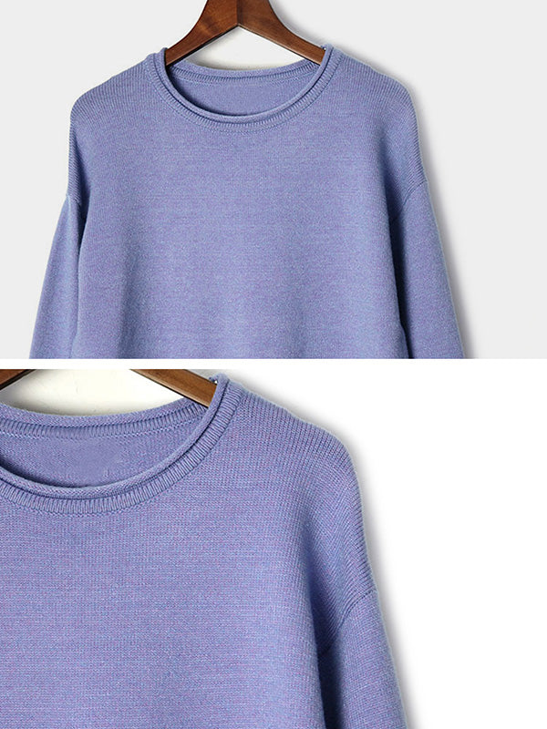 Space Out Double The Layer Sweater Top Details 1