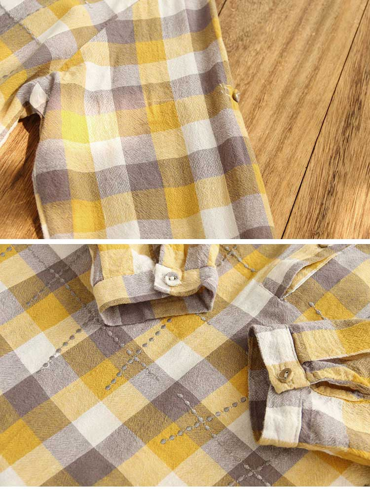 It's Undeniable Button-Up Plaids Shirts Details 2