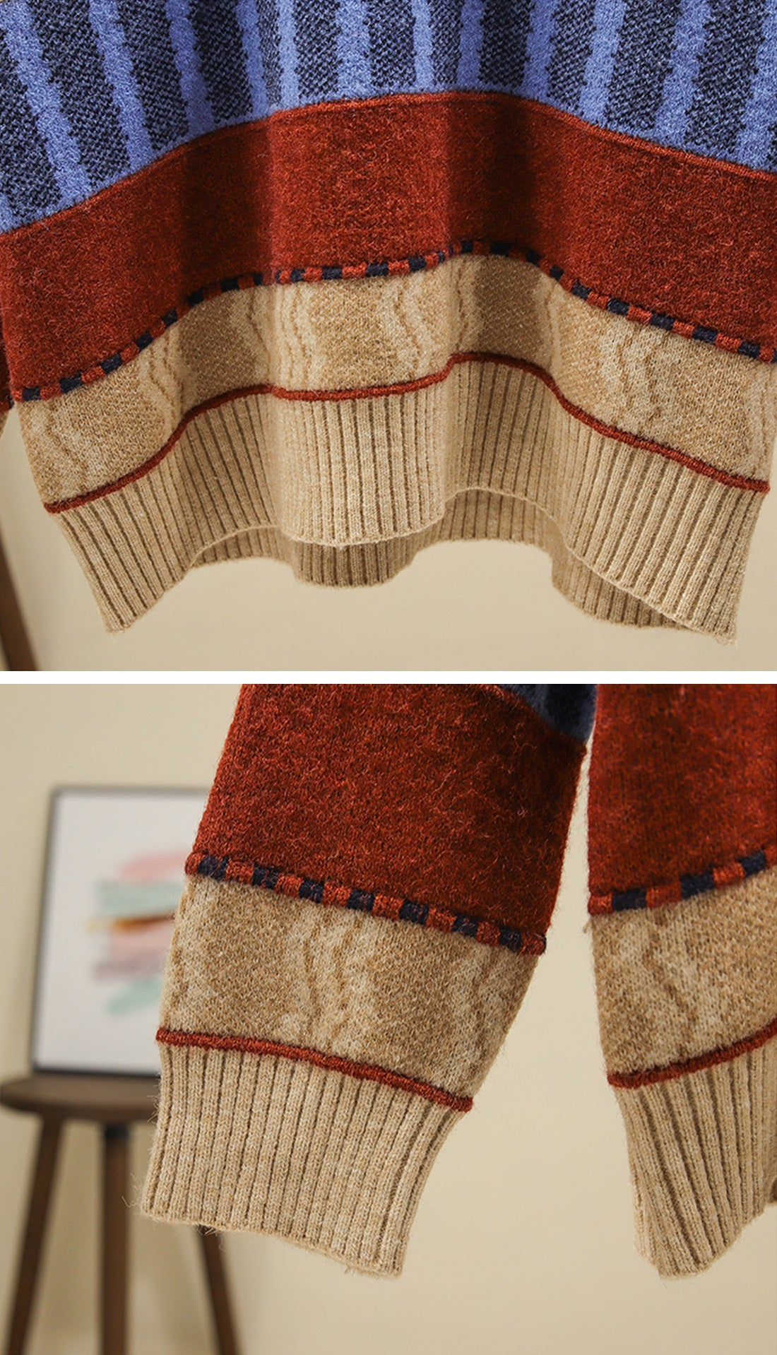 On The Prowl Sweaters Details 2