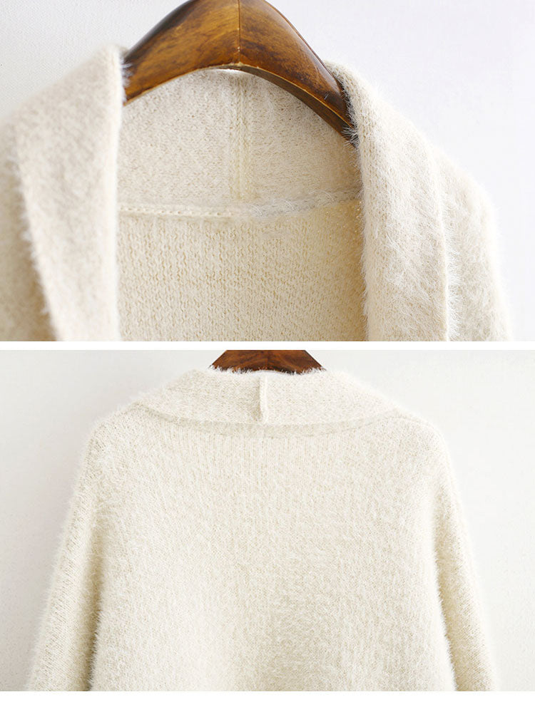 Iconic Angles Plus Size Cardigan Sweater Details 2