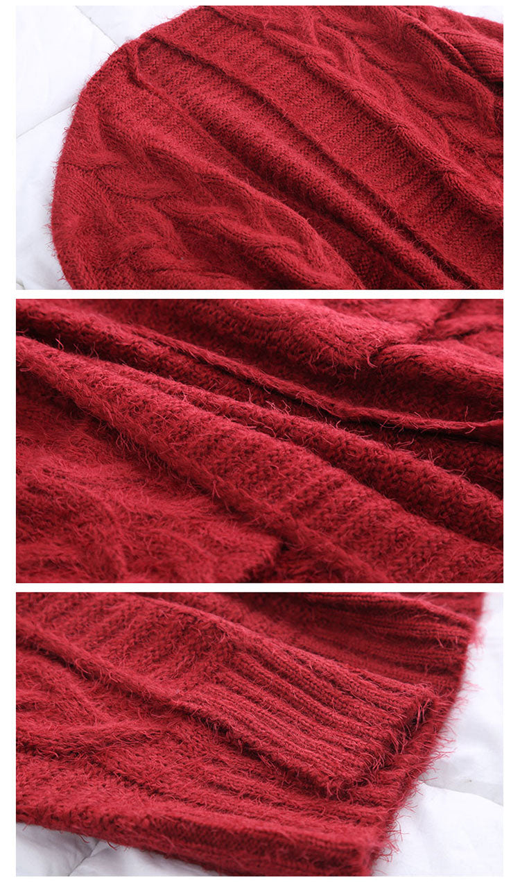 My Heart! Knitting Cardigan Sweater Details 2
