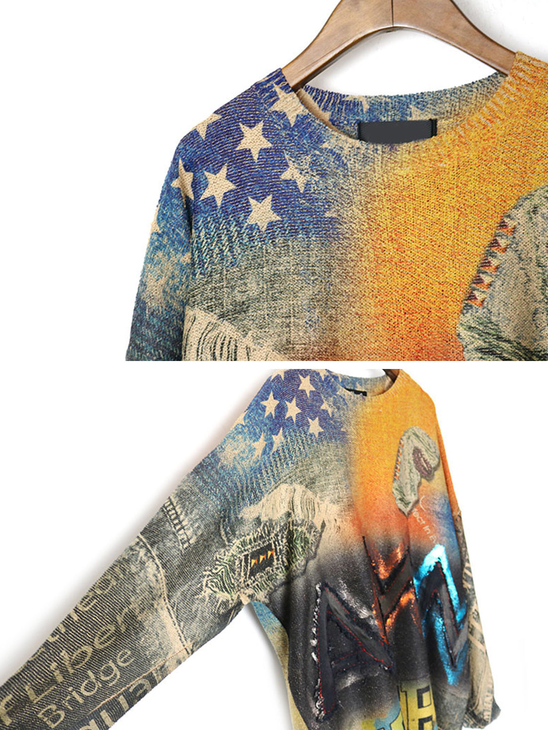 American Day Dream Sweater Top Details 2