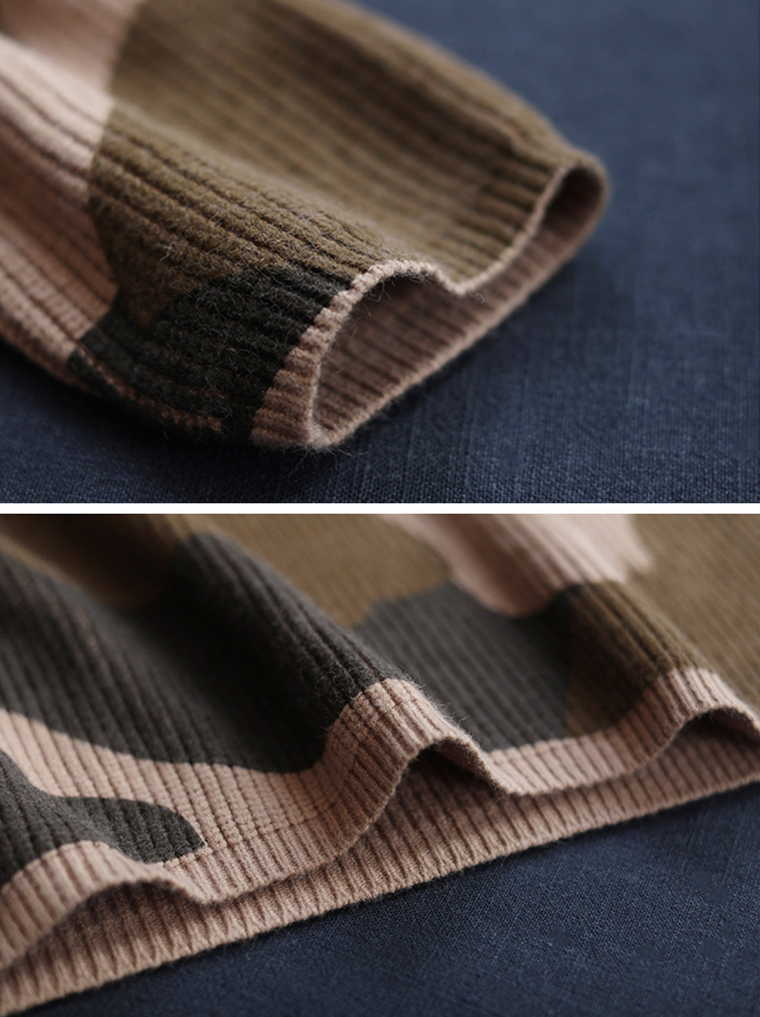 Wild Camouflage Hooded Sweater Details 2