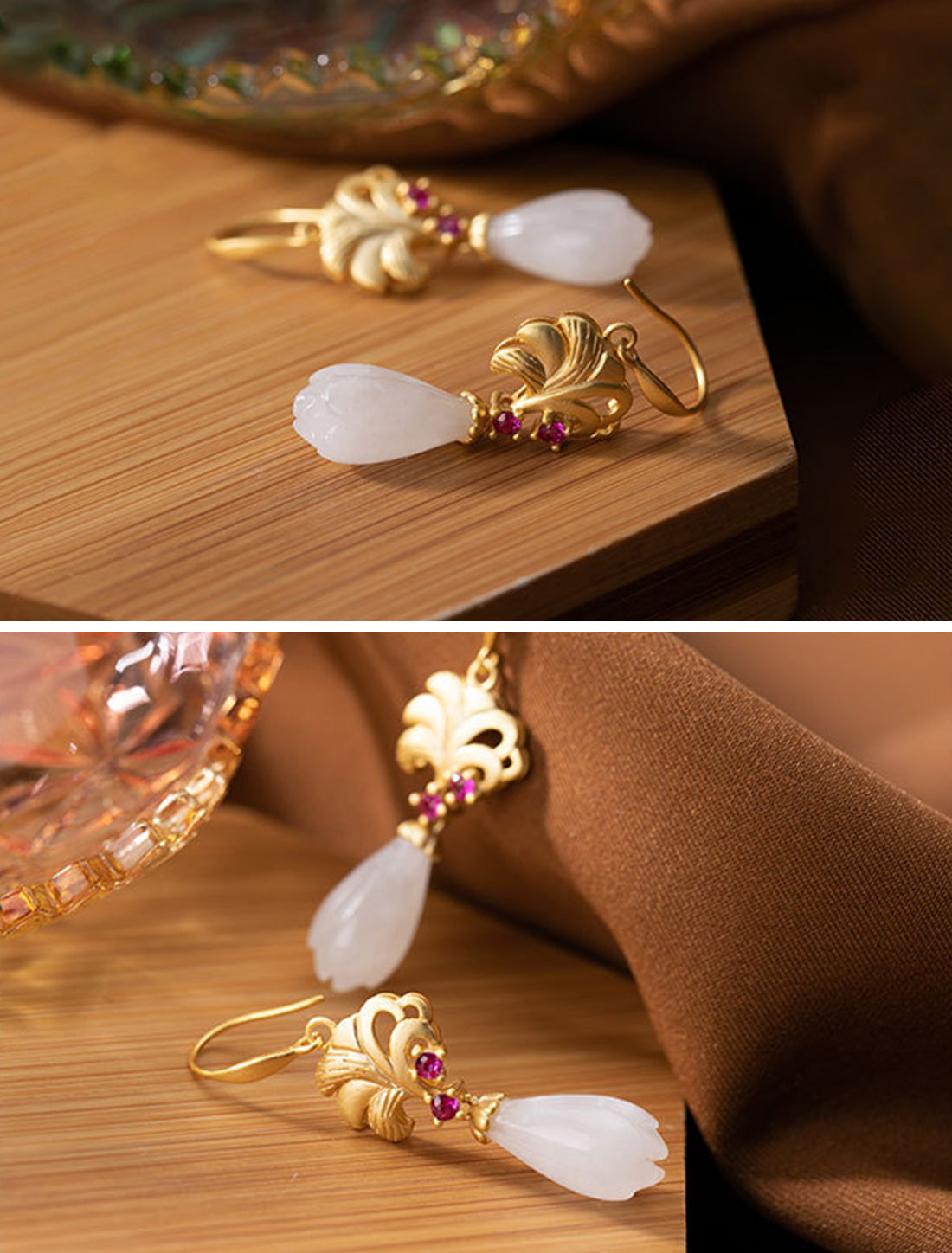 Natural Notion Drop Earrings Details 2