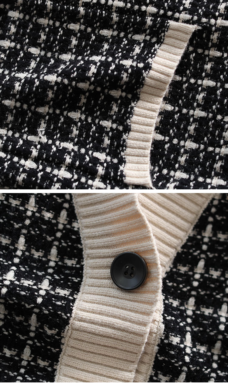Ethically Earthy Cardigan Sweater Details 2