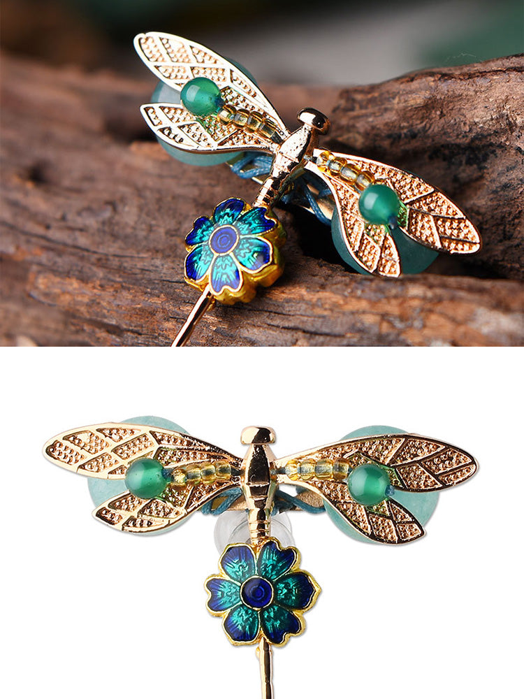 Where Dragon Fly Brooch Details 2