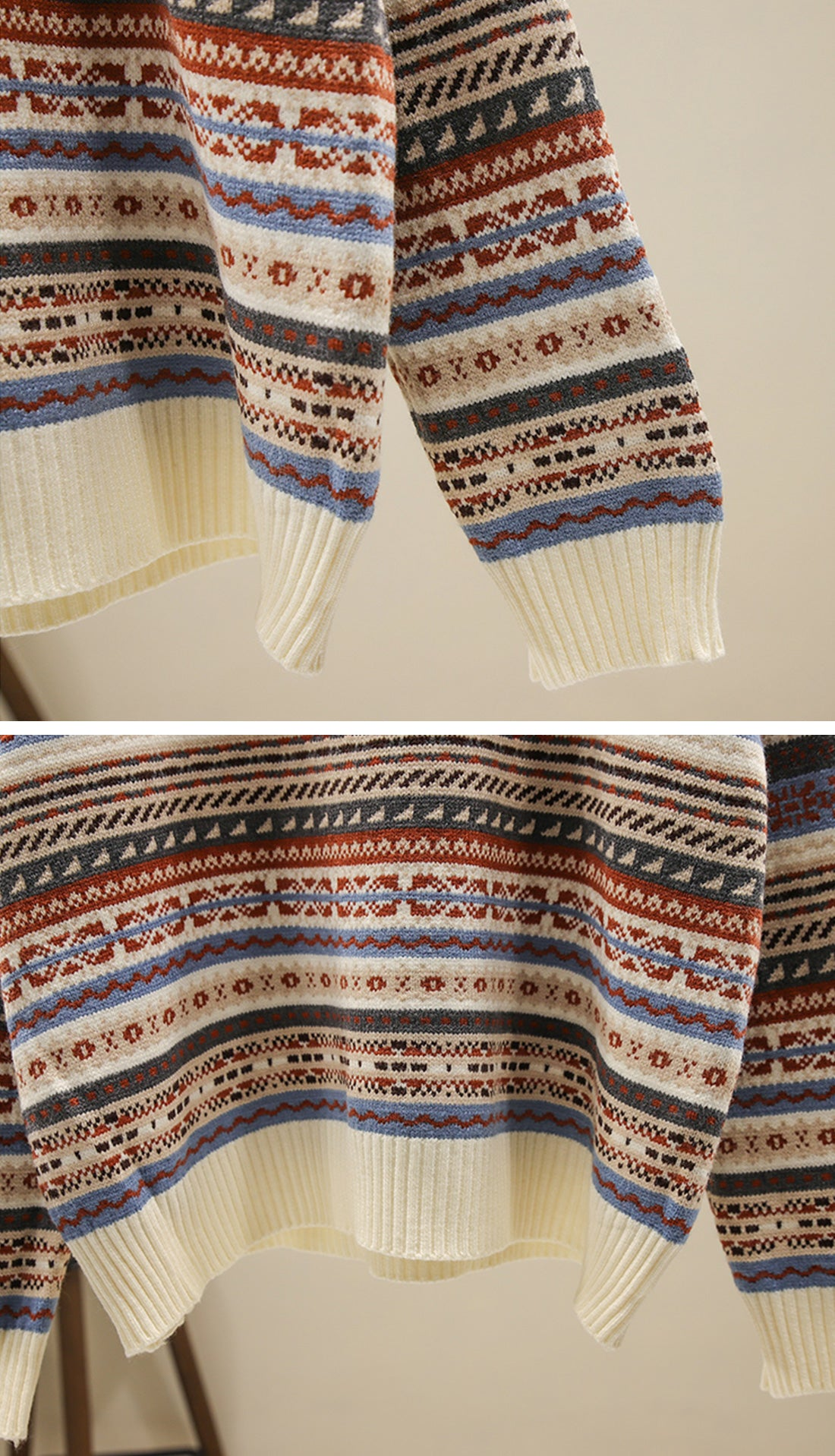 Loving Stripes Sweaters Details 2