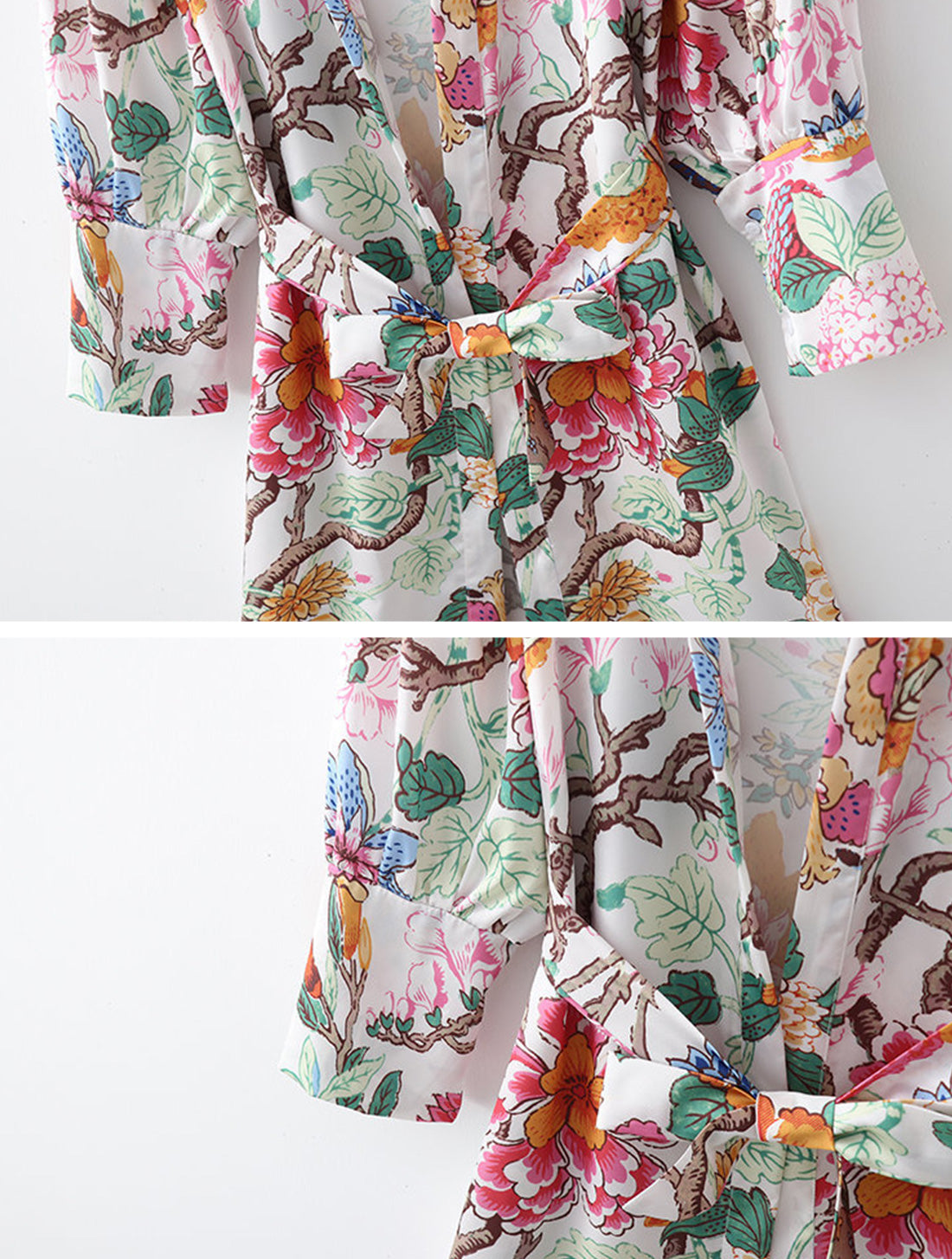 Forever With You Kimono Robe Details 2