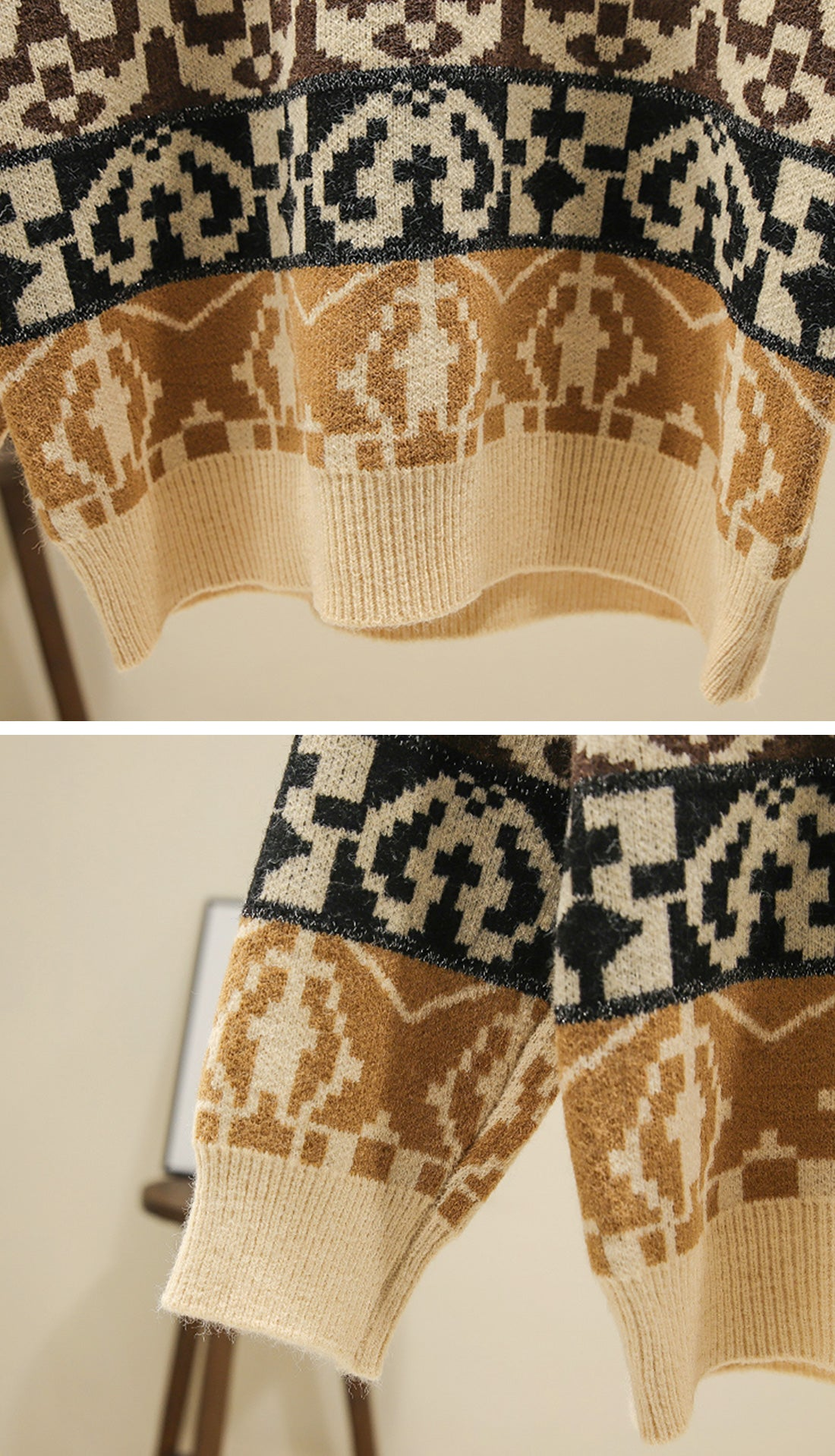 The Travelers Sweaters Details 2
