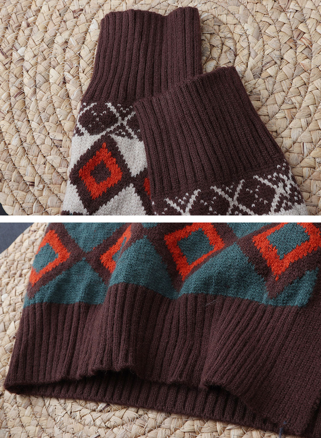 You Know Vintage Cardigan Sweater Details 2