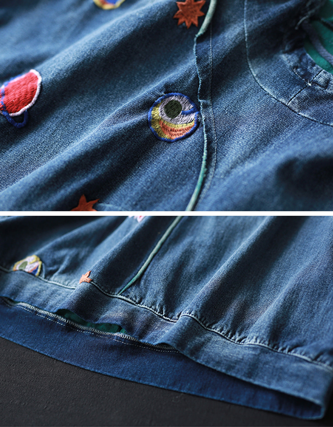 Something Different Denim Cotton Co-Ords Details 2