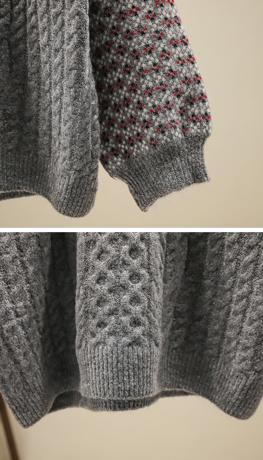 Into the Forest Sweaters Details 2
