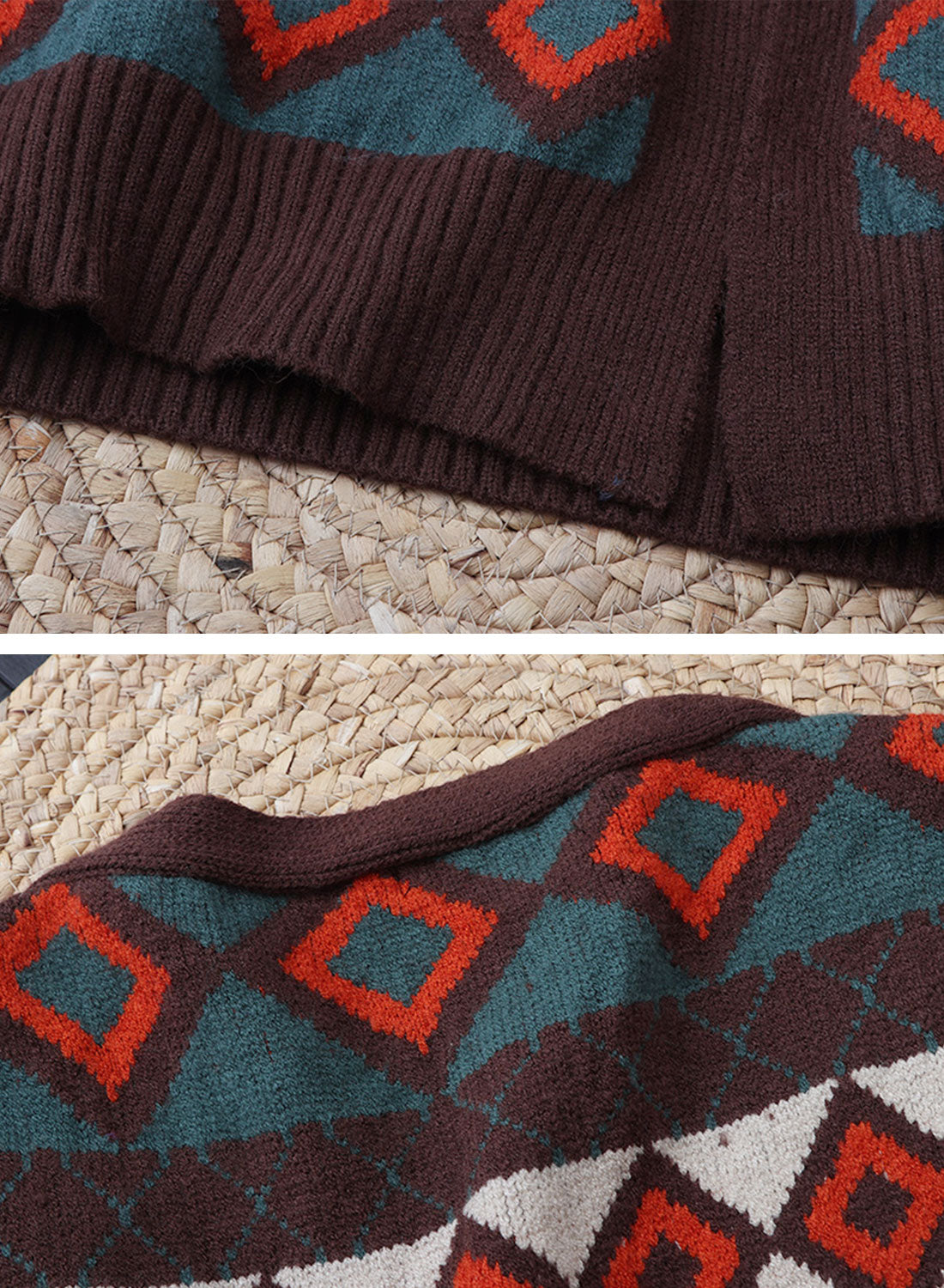 You Know Vintage Cardigan Sweater Details 3