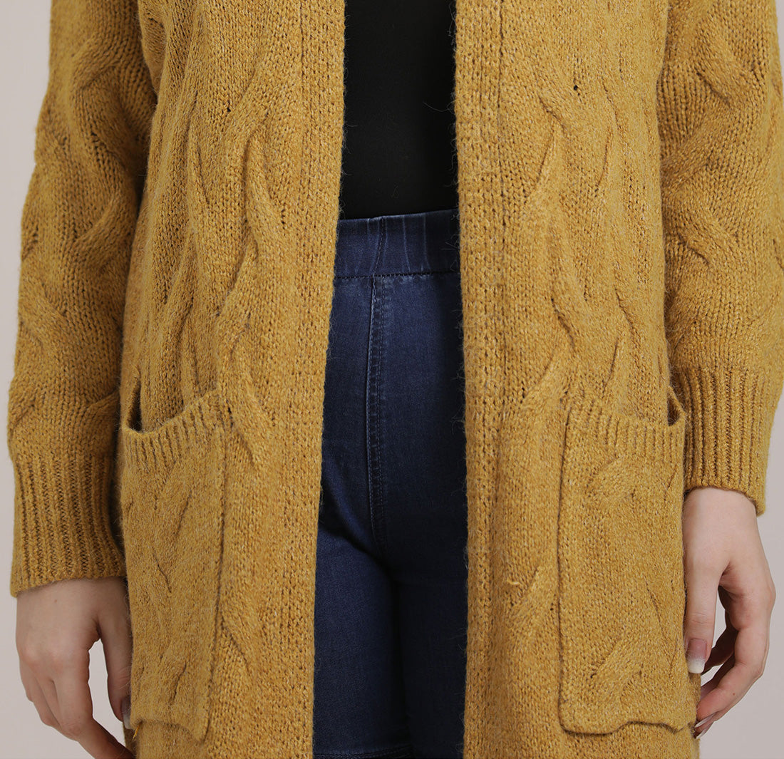 City Walk Midi Cardigan Details 3