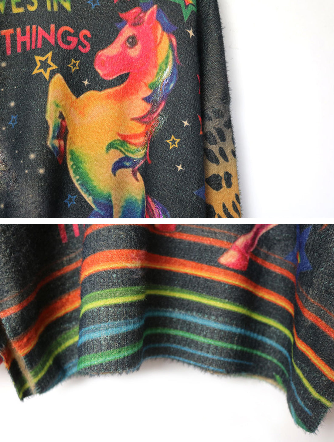 That's My Gala Unicorn Things Sweater Top Details 3