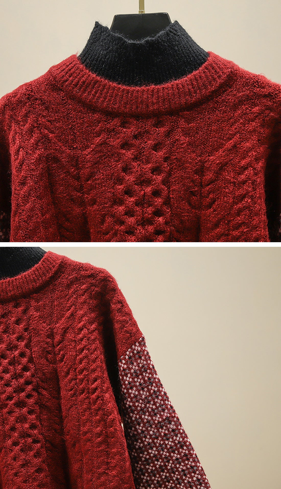 Into the Forest Sweaters Details 3