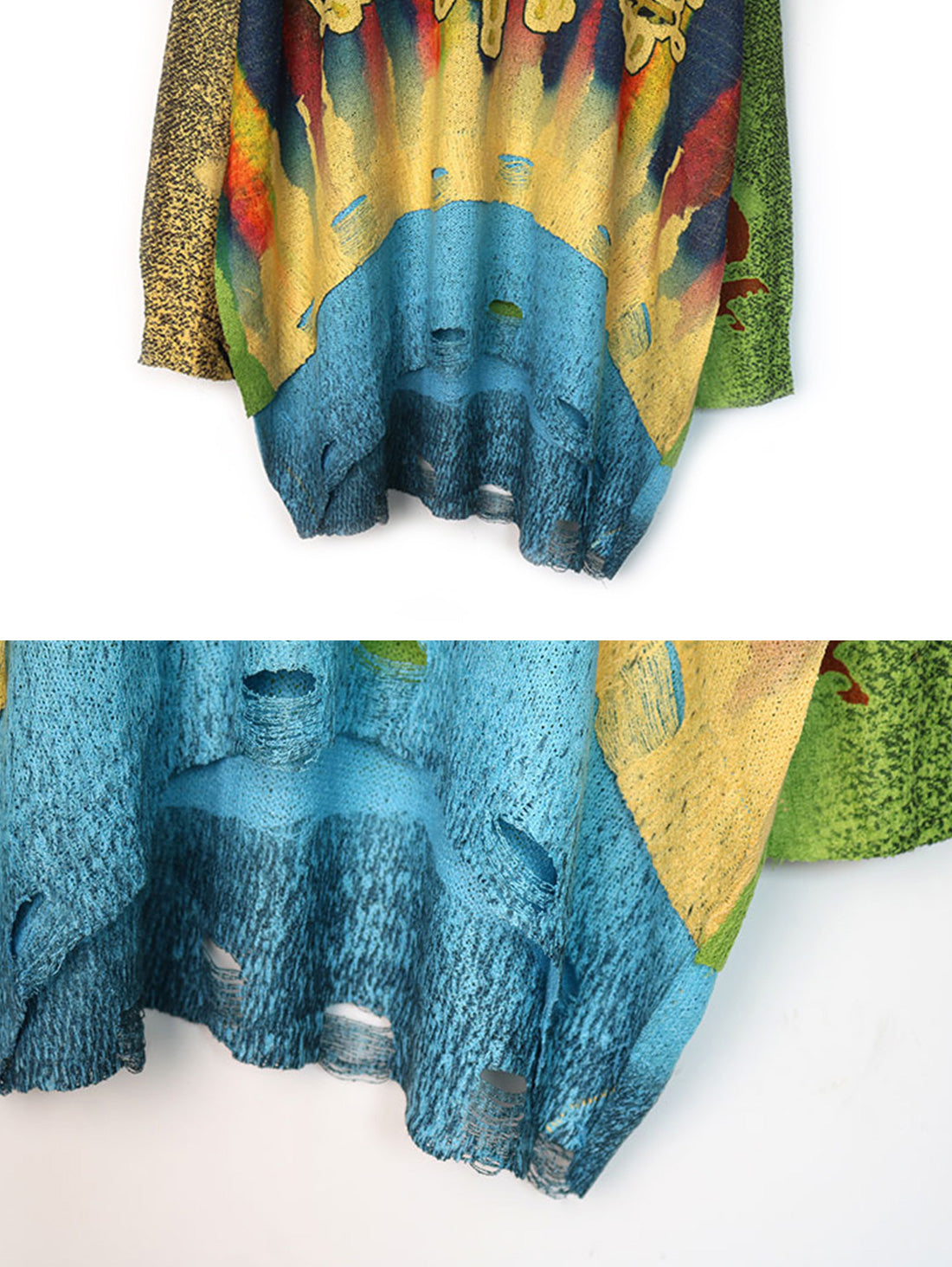 Call For Peace Sweater Top Details 3