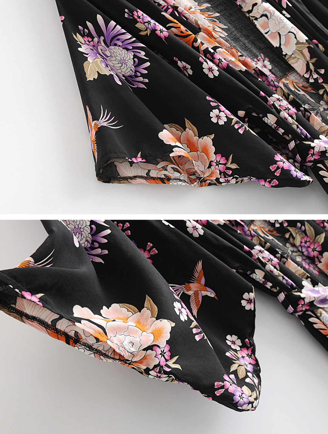 Simple As Can Kimono Robe Details 3