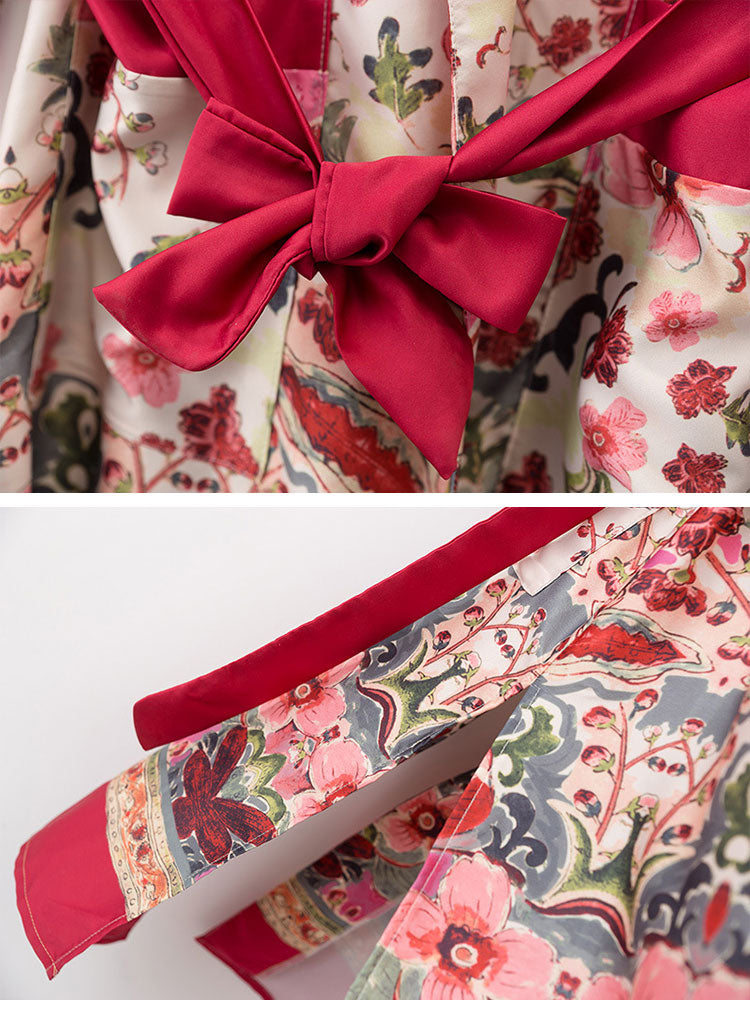 Be My Valentine Gown Robe Details 2