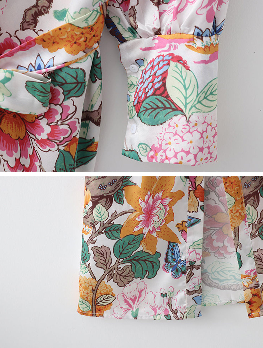 Forever With You Kimono Robe Details 3